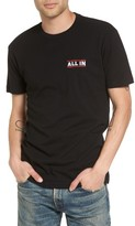 Kid Dangerous Men's All In Embroidered T-Shirt