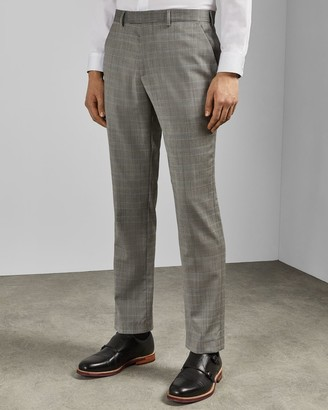 Ted Baker Sterling Checked Wool Trousers