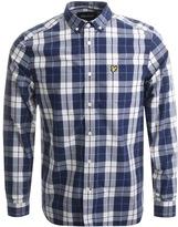 Lyle & Scott Check Poplin Shirt Navy