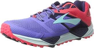 Brooks Cascadia 12, Women's Running Gymnastics Shoes, Pink (Bajablue/paradisepink/clearwater), (36.5 EU)
