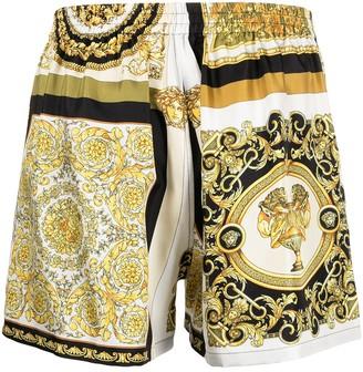 Versace Silk Baroque Sleep-Shorts