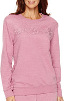 Alfred Dunner Forever and Always Long-Sleeve Quilted-Yoke Top
