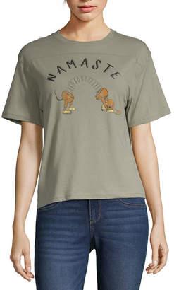 Fifth Sun Juniors Womens Crew Neck Short Sleeve Toy Story Graphic T-Shirt