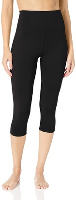 Core Products Amazon Brand - Core 10 Women's Plus Size All Day Comfort High Waist Capri Yoga Legging - 22