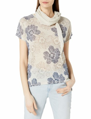 M Made in Italy Women's 2 Piece t-Shirt and Scarf