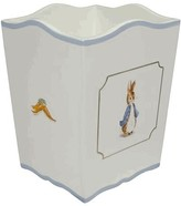 The Well Appointed House Classic Enchanted Forest Hand Painted Wastebasket