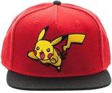 """Bioworld Men's Licensed Pokemon """"Pikachu"""" Snapback Hat O/S"""