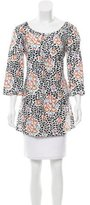 Tory Burch Printed Linen Tunic
