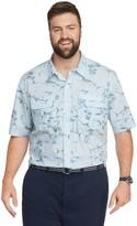 Izod Big & Tall Sportswear Saltwater Button-Down Shirt