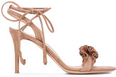 Gianvito Rossi Flora 85 sandals - women - Leather - 38.5