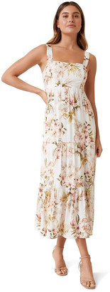 Forever New Cami Tiered Maxi Dress