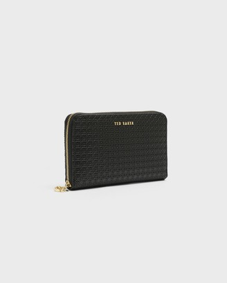 Ted Baker Bee Charm Zip Large Purse