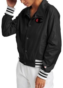 Champion Women's Water-Repellent Coach Jacket