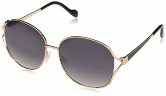 Jessica Simpson Women's J5847 Vented Metal UV Protective Sunglasses | Wear Year-Round | Give as a Gift to Her