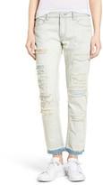 BLANKNYC Denim Destroyed Girlfriend Jeans (Sunbaked)