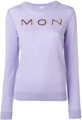 Moncler 'Mon' cashmere jumper