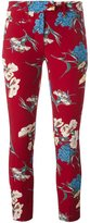 Dondup floral print trousers