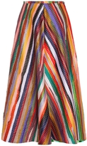 Rosie Assoulin Rainbow Maxi Skirt