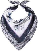 Joe Fresh Women's Floral Scarf, White (Size O/S)