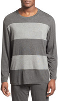 Daniel Buchler Wide Stripe Long Sleeve T-Shirt