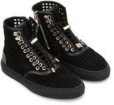 Balmain Sneakers Alte Traforate