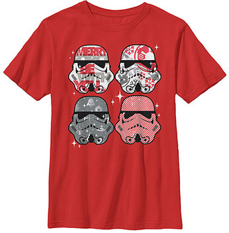 Fifth Sun Boys' Tee Shirts RED - Star Wars Red Candy Troopers Tee - Boys