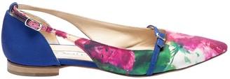 Oscar de la Renta \N Purple Cloth Flats