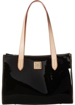 Dooney & Bourke Pebble Patent Small Shopper