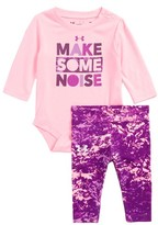 Under Armour Infant Girl's Make Some Noise Bodysuit & Pants Set