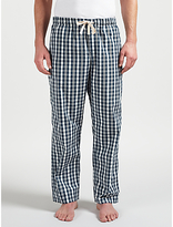John Lewis Tenterton Check Lounge Pants, Blue