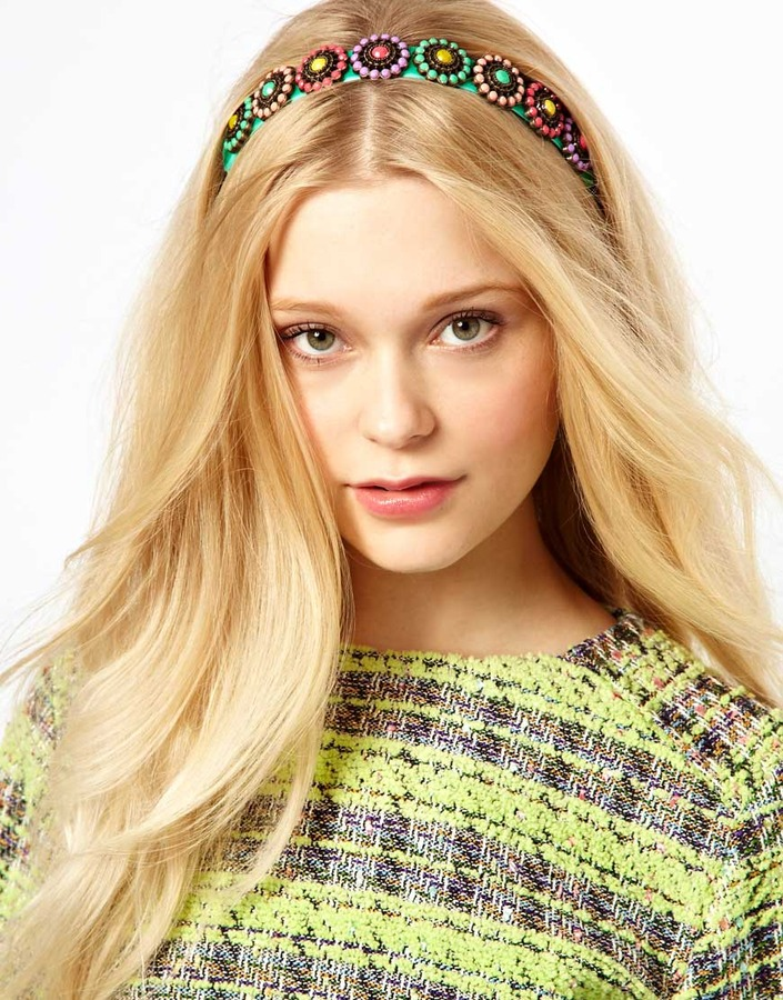Her Curious Nature Fruit Pastel Head Band