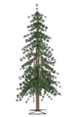 clear Sterling Tree Company 5Ft. High Pre-Lit Alpine Tree With White Led Lights