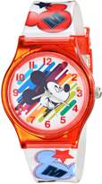 Disney Kids' W001964 Mickey Mouse Analog Watch