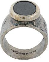 Maison Margiela oval stone ring