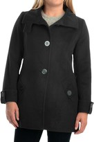 Kristen Blake Australian Wool Coat - Funnel Neck (For Women)