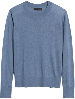 Banana Republic Silk Cashmere Relaxed Sweater