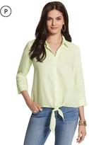 Chico's Linen Lydia Shirt