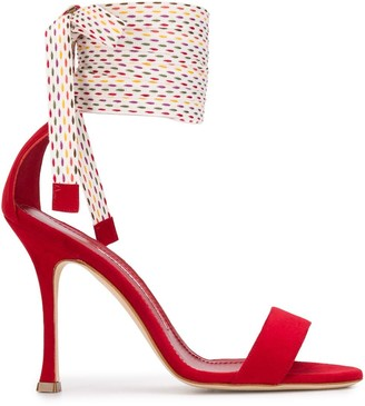 Manolo Blahnik Chasta high heel sandals
