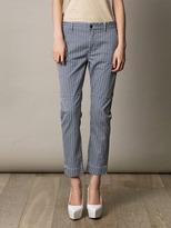 Closed Geometric-print trousers