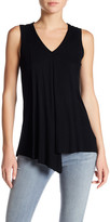 Cable & Gauge V-Neck Rib Knit Tank