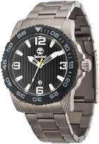 Timberland Men's Quartz Watch with Dial Analogue Display and Grey Stainless Steel Strap TBL.13613JSUB/02M