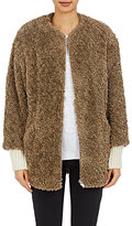 Etoile Isabel Marant Women's Faux-Fur Abril Jacket-BEIGE