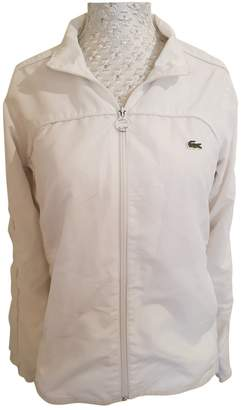 Lacoste White Jacket for Women