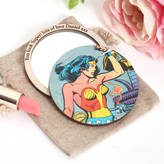 Bombus Personalised Comic Compact Pocket Mirror For Her