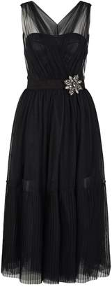 Pinko Embellished Tulle Dress