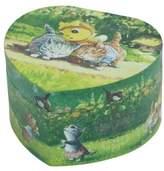 Trousselier Bee Large Heart Shaped Music Box