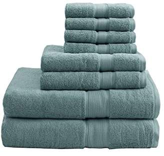 Madison Home USA SIGNATURE 800GSM 100% Cotton 8 Piece Towel Set See Below