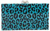 Charlotte Olympia Leopard Print Pandora Clutch