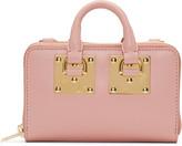Sophie Hulme Pink Medium Albion Double Zip Wallet Bag