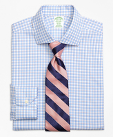 Brooks Brothers Non-Iron Madison Fit Bold Shadow Check Dress Shirt